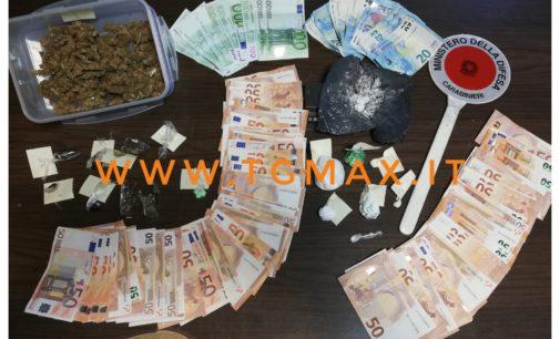 Droga, ecstasy e speed in casa: arrestato un uomo di Roccascalegna