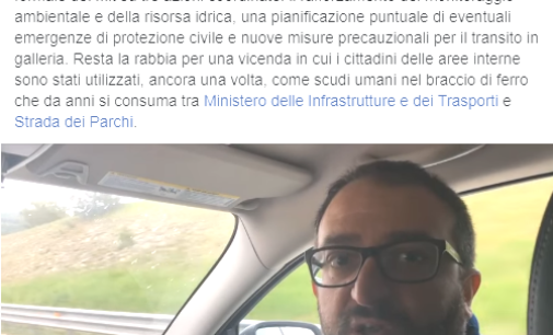 Il traforo del Gran Sasso non chiuderà, lo annuncia il sindaco dell'Aquila dopo l'incontro col ministro Toninelli