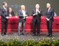 Premio Prisco, la cerimonia a Chieti con Marotta e De Zerbi