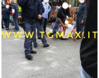 Rissa tra cognati al mercato del sabato, botte anche ai poliziotti: due arresti a Lanciano