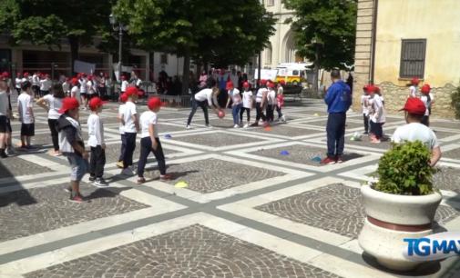 Valori in rete, una giornata di sport per 200 bambini a Sant'Eusanio del Sangro