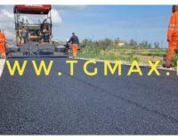 Via Verde, iniziati i lavori di asfaltatura per la pista ciclopedonale