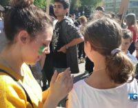 Lanciano, la protesta di studenti e insegnanti per il clima