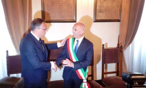 Pescara, si insedia il nuovo sindaco Carlo Masci