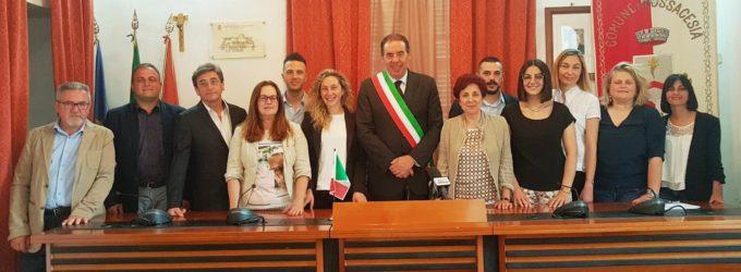 Fossacesia, insediato il nuovo consiglio comunale