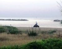 Quad sulle dune di Ortona, segnalazione alla capitaneria di porto