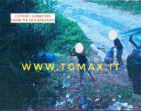 Rifiuti abbandonati a Lanciano, multa e risarcimento danni per due cittadini