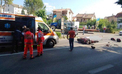 Incidente mortale a Chieti, centauro perde la vita nello scontro moto-auto