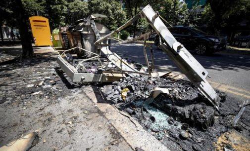 Fuoco ai cassonetti dei rifiuti nella Capitale: aumentano le tonnellate verso l'Abruzzo