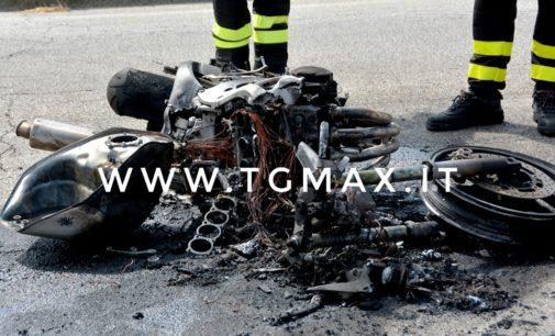 Incidente stradale a Treglio, grave centauro 26enne