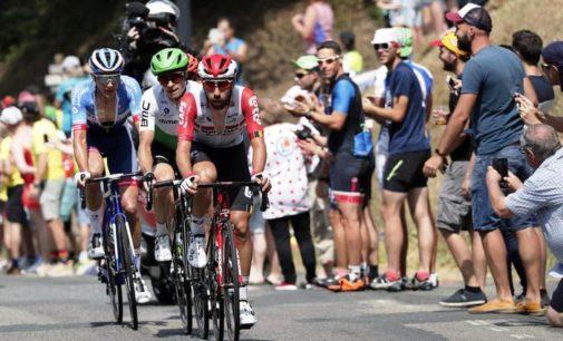 Giulio Ciccone non fa il tris al Tour de France