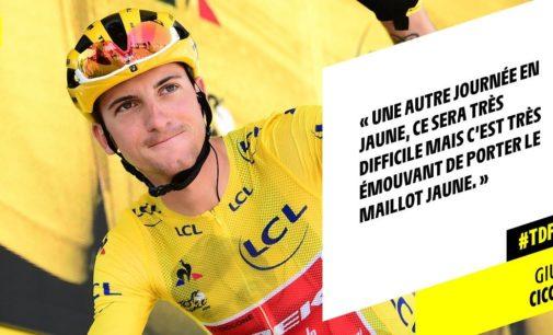 Chieti prepara la festa per Giulio Ciccone, due volte maglia gialla al Tour de France