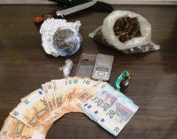 Droga: aveva 400 grammi marijuana in casa, arrestato 31enne