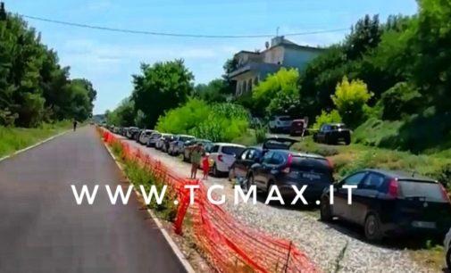 Via Verde: si inizia a colorare la pista, cantiere off limits