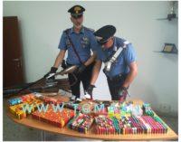 Armi e droga, arrestata casalinga a Fossacesia