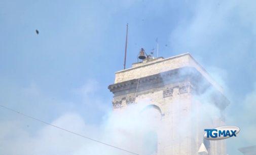 Feste di settembre, lo sparo della Novena sulla torre civica a Lanciano