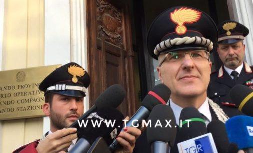 Carabinieri, il comandante provinciale Riscaldati lascia Pescara e va a Roma