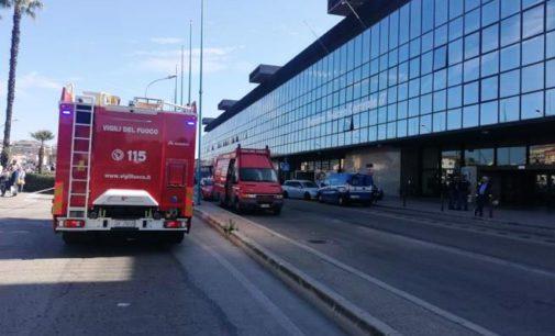 Allarme bomba nucleare alla stazione centrale di Pescara