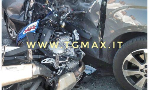 Atessa: scontro moto-auto, grave 21enne