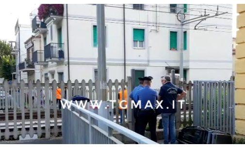 Francavilla al mare: linea ferroviaria interrotta, cadavere sui binari