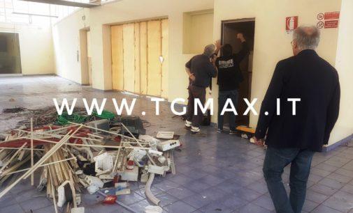 Lanciano: danni al mercato coperto per oltre 50 mila euro, lavori in corso