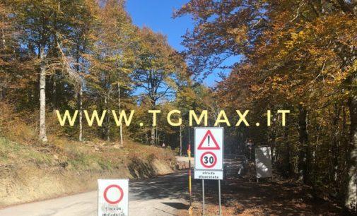 Viabilità: dopo anni di chiusura, riapre la strada provinciale 164 nel tratto tra Gamberale e Palena