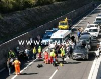 Lanciano: si scontra con un'auto in A14, motociclista ricoverato in rianimazione
