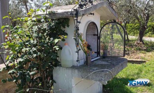 Fossacesia, rubata la statua della Madonna a Piano Favaro