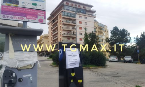 Lanciano: parcheggio gratis per tutta la mattina, Anxam installa i nuovi parcometri in città