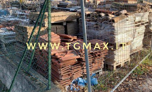Paglieta: scoperto mentre ruba materiale edile, denunciato