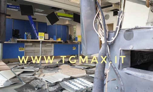 Fossacesia: arriva l'ufficio mobile dopo l'assalto al postamat di via Marina