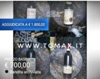 Hotel Rigopiano, macabra asta di bottiglie di vino scampate alla tragedia