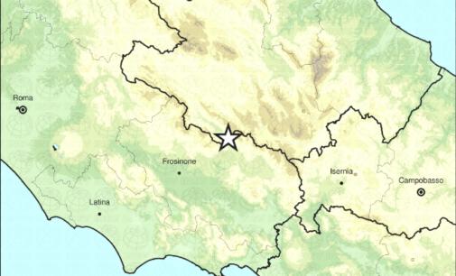 Balsorano, terremoto di magnitudo 4.4 tra L'Aquila e Frosinone