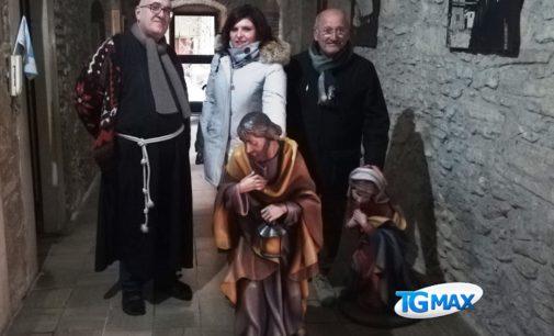 Lanciano: ecco il presepe nella Torre civica, lo prestano i frati di Sant'Antonio