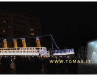 Natale nelle piazze d'Abruzzo: il Titanic a Pescara, un iceberg a Lanciano