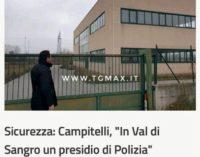 Troppa criminalità in Val di Sangro, Campitelli chiede un presidio di polizia