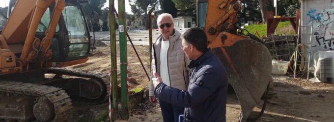 Lanciano: lavori spediti al Parco Valente, a febbraio il percorso ciclopedonale