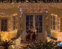 Ortona: ecco la casa più luminosa d'Abruzzo a Natale