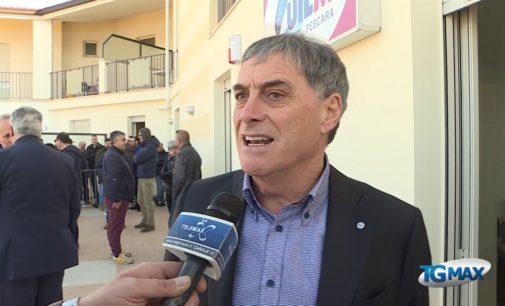 Uilm apre la sede in Val di Sangro, inaugurazione con segretario Palombella