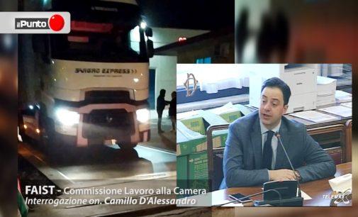 Vertenza Faist in Commissione Lavoro: prima lo scontro con il sottosegretario Di Piazza, poi la promessa ad occuparsi del caso