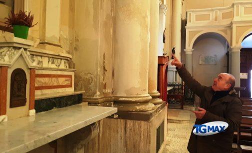 Lanciano: degrado nella chiesa di Santa Lucia, la denuncia di Italia Nostra
