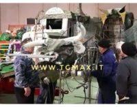 Scerni, preparativi per il Gran Carnevale del 25 febbraio con i carri allegorici