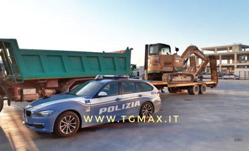 Polstrada di Lanciano a caccia dei ladri di camion, fermati sulla Via Verde