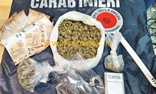 San Valentino da sballo a Castel Frentano: 50enne arrestato con 3 etti di droga, riforniva i giovani della zona