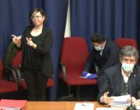 Coronavirus: punto stampa del presidente Marco Marsilio, zona rossa Val Fino estesa all'area Vestina
