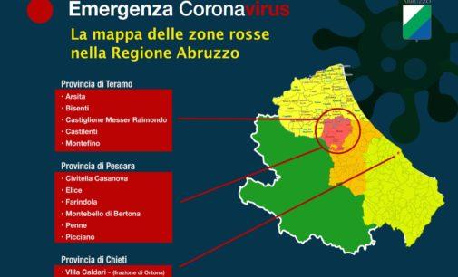 Coronavirus: il presidente della Regione istituisce la zona rossa a Villa Caldari di Ortona