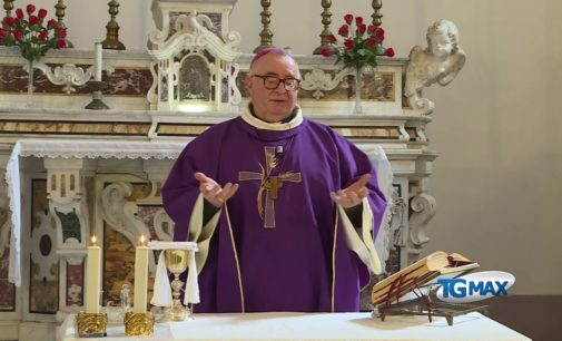 Quarta domenica di Quaresima, la Santa Messa dell'arcivescovo Emidio Cipollone su Telemax