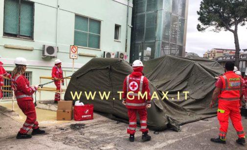 Coronavirus: all'ospedale di Lanciano arriva la tenda del pretriage