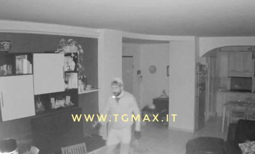 Vasto, è caccia al ladro: diramate foto e video del furto in abitazione, qualcuno lo riconosce?