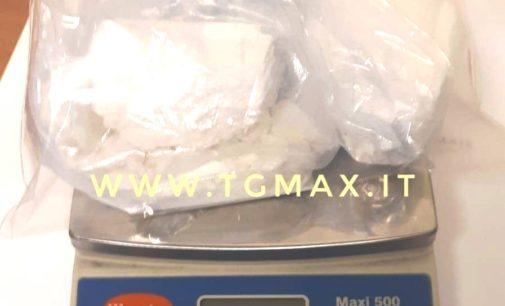 Vasto: arrestato 22enne albanese per detenzione ai fini di spaccio, aveva due etti di cocaina